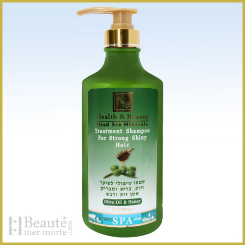 Shampooing cheveux fins, olive H&B